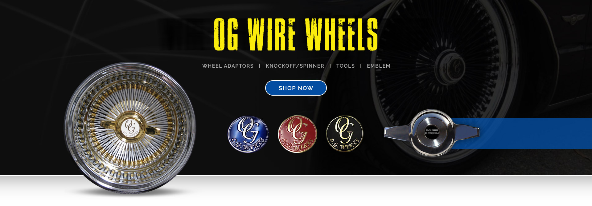 OGRIMSDIRECT.COM Og Wire Wheels Code on